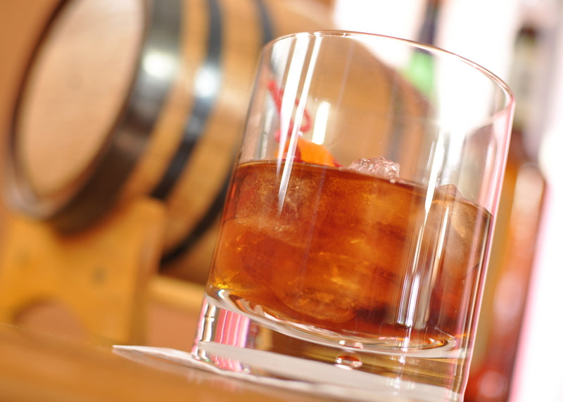 Barrel-Aged Rum Manhattan