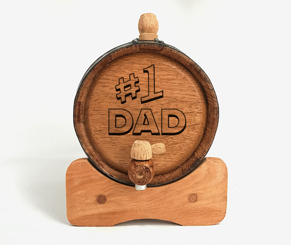 #1 Dad Mini Barrel