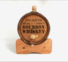 Bourbon Whiskey Mini Barrel