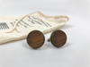 Barrel Wood Cuff Links