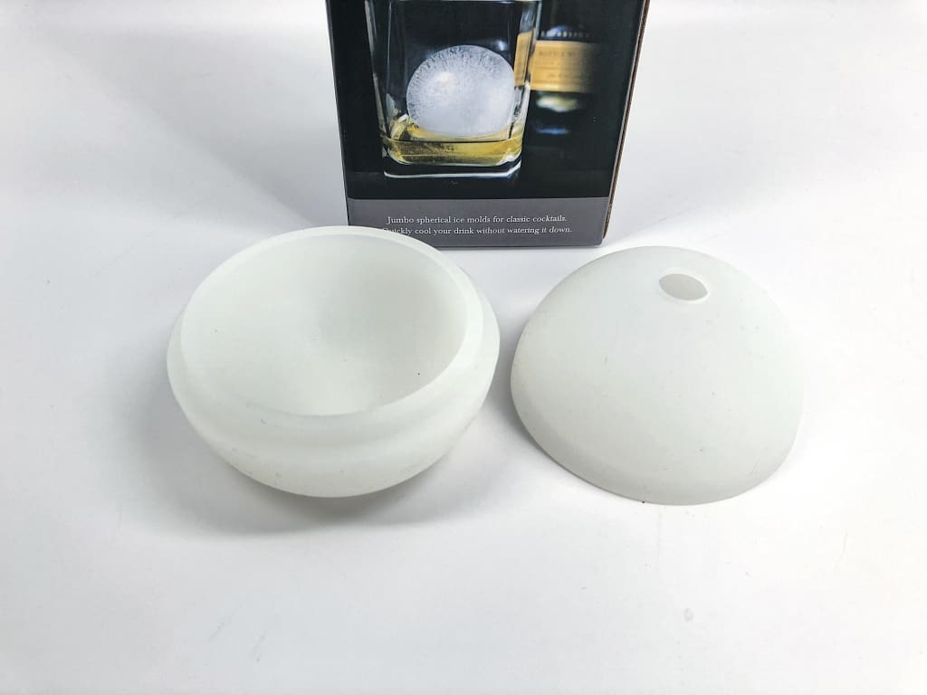 The Original Whiskey Ball (2-Pack) Ice Molds