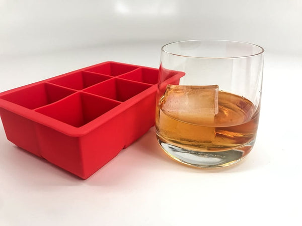 Tovolo King Cube Ice Tray - Candy Apple Ice Molds