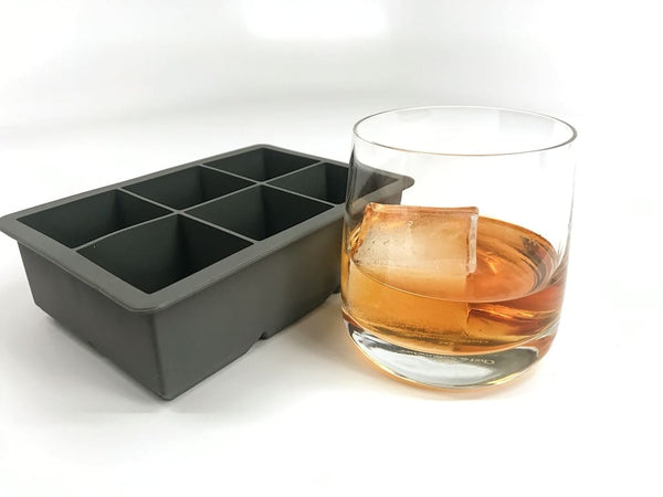 Tovolo King Cube Ice Tray - Charcoal Ice Molds