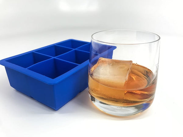 Tovolo King Cube Ice Tray - Stratus Blue Ice Molds