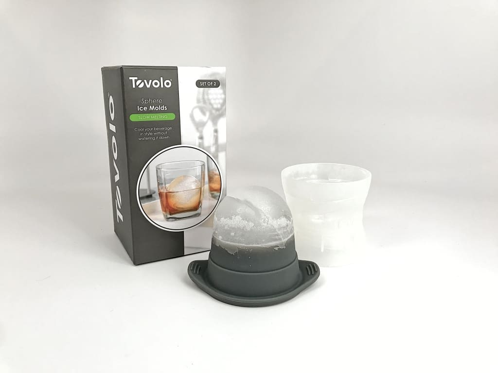 Tovolo Sphere Ice Molds (Set Of Two) Ice Molds
