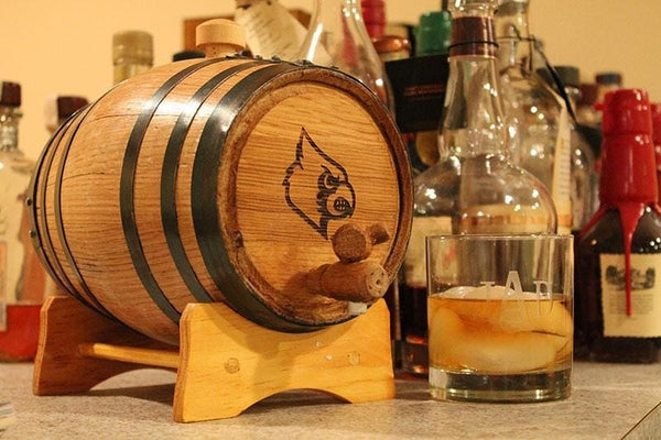 University Of Louisville Collegiate Bourbon Barrels Mini Barrels
