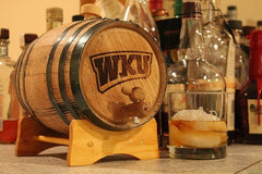 Western Kentucky University Collegiate Bourbon Barrels Mini Barrels