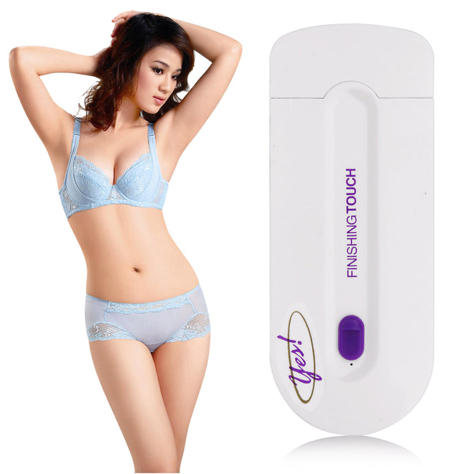 BREAKTHROUGH INSTANT HAIR REMOVAL Pain-Free. Long-Lasting