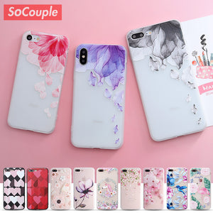 SoCouple ultra-thin case For iPhone 5 5s 6 6s 7 8 7/8
