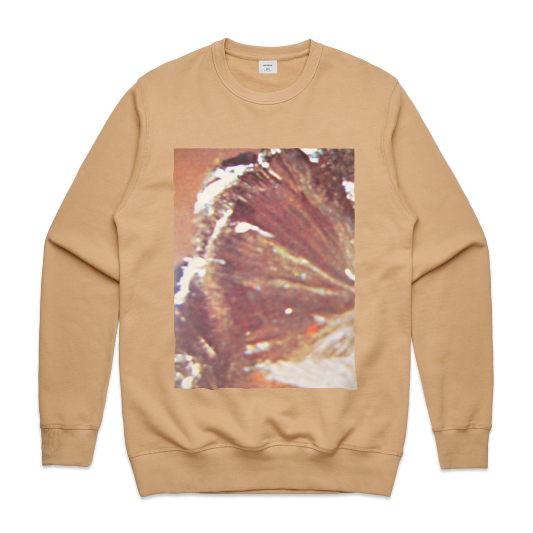 Going Nowhere Unisex Crewneck BROWN