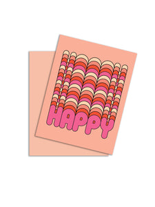 Happy Happy Card
