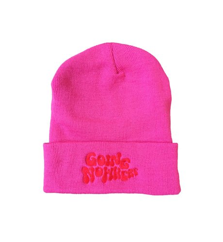 Going Nowhere Beanie PINK