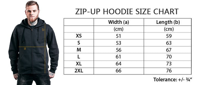 Five Finger Death Punch Got Your Six Mens Zip-up Unisex Pullover Hoodie Black