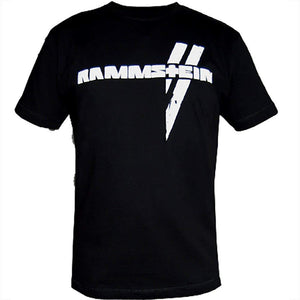 "Rammstein Men's T-Shirt ""Weisse Balken"" - Large"