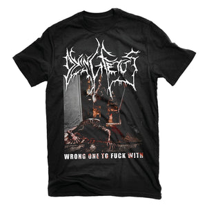Dying Fetus - Wrong One To Fuck With T Shirt O-Neck fashion short sleeved T-shirt for men Summer loose funny tee shirt