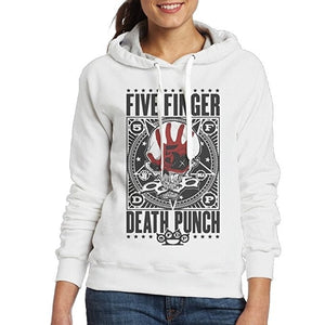 Men's Women's Sweater Five Finger Death Punch Punchagram Hooded sweatshirt Hoodies