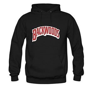 Women's Backwoods Zig Zig Cannabis Papers DIY Cotton Graphic Hoodies Jacqueline Begay