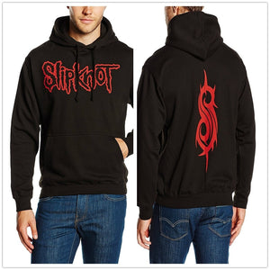 Slipknot Men's Logo Long Sleeve Hoodie