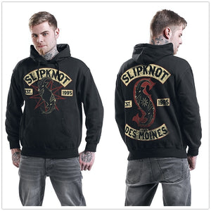 Slipknot Iowa Des Moines Mens Hooded Sweatshirt Black