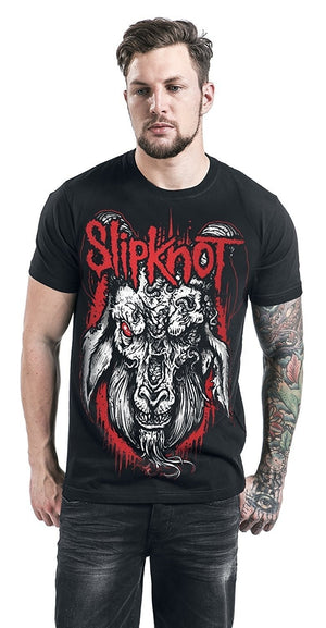 Slipknot Rotting Goat Mens T-Shirt Black Summer