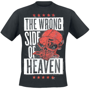 Five Finger Death Punch The Wrong Side Of Heaven - The Righteous Side Of Hell T-Shirt black
