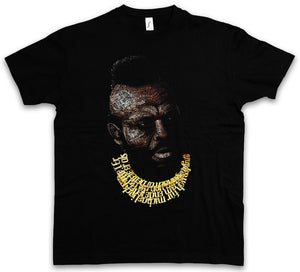 BA BARACUS - A Hannibal Mr. Team Bus T Chains Murdock Van TV Car Men's Cotton T-Shirt