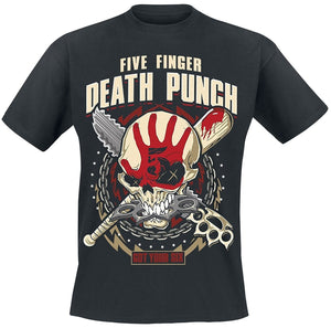 Five Finger Death Punch  T-Shirt Black