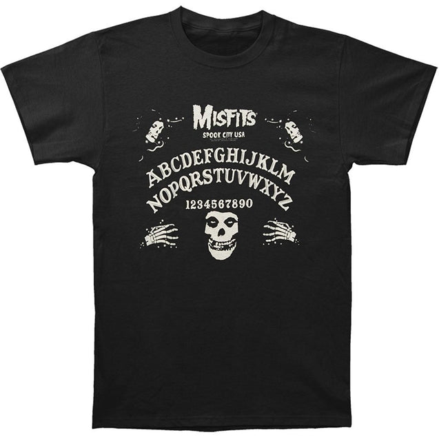 Misfits Men's Ouija Board T-shirt Black O-Neck short sleeved T shirt summer fashion loose funny tee shirt For Men