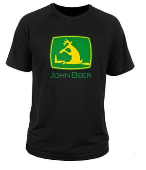Mens Fashion T Shirt T-shirt John Beer \\ Tractor Deere