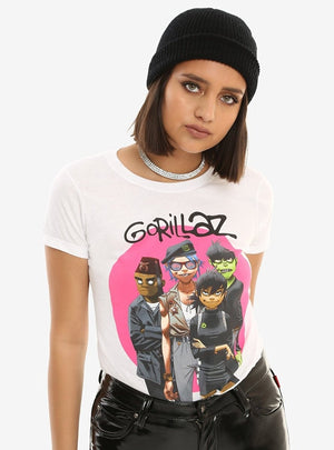 Gorillaz Group Girls T-Shirt
