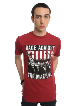 Rage Against The Machine Skull Men T-Shirt