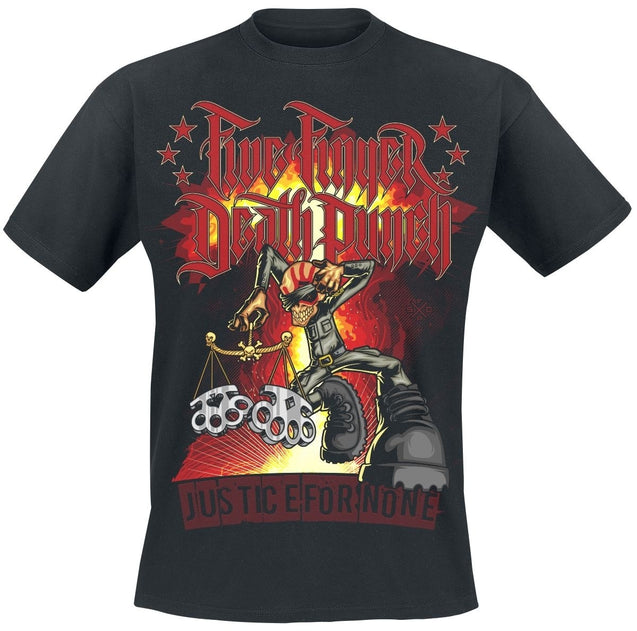 Justice-Graffiti Five Finger Death Punch T-Shirt