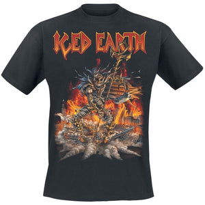 Summber Black Tope Tee For Men Incorruptible     Iced Earth T-Shirt