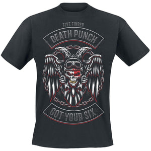 Biker Badge     Five Finger Death Punch T-Shirt