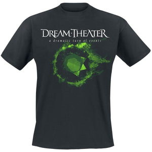 Men High Quality Printed Tops Tees A dramatic turn of events     Dream Theater T-Shirt   Mens Short Sleeve Shirt  cotton t-shirt