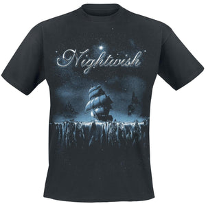 Men's Fashion Short Sleeve Tee Tops  Woe To All     Nightwish T-Shirt  Men O Neck Top Tshirt Cotton Funny T Shirts