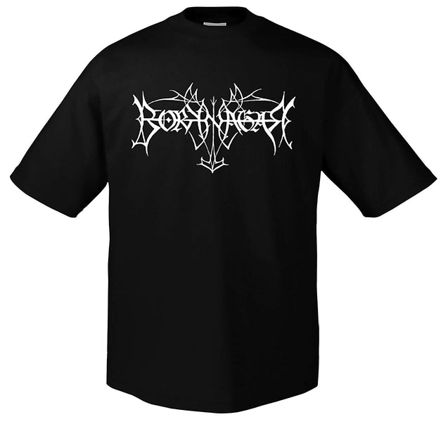 Summer Borknagar White Logo T-Shirt Tops