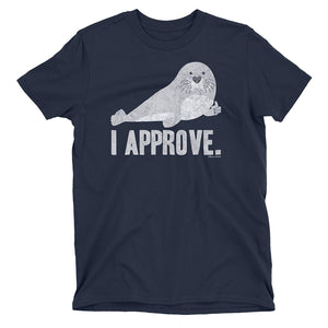 Kids Seal of Approval Funny Animal Pun T-Shirt