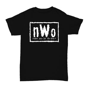 Mens T Shirt NWO Wrestling New World Order Short Sleeve T-Shirt
