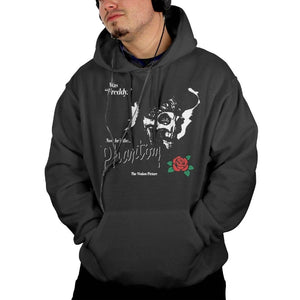 Mens Hoodies The Phantom Of The Opera With Rose Coat For Men