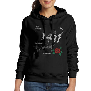 Women Hoodies The Phantom Of The Opera With Rose Coat For Ladies