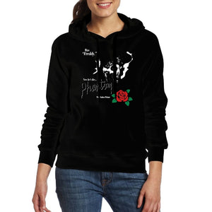 Women Hoodies The Phantom Of The Opera With Rose Coat Winter