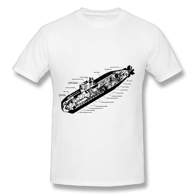 Men's Shirts Tops Tee Blind Man's Pullover Bluff The Untold Story of American Submarine Espionage Tees