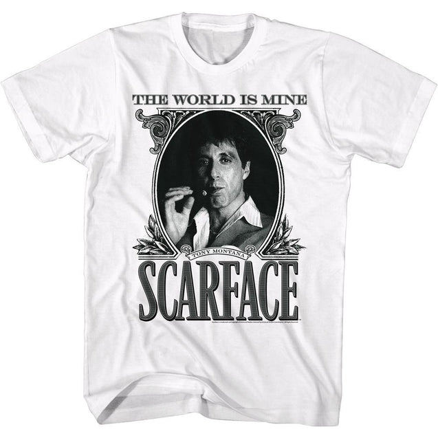 2018 Summer ShirtsScarface The World Is Mine Crime Movie Al Pacino as Tony Montana Adult T-Shirts