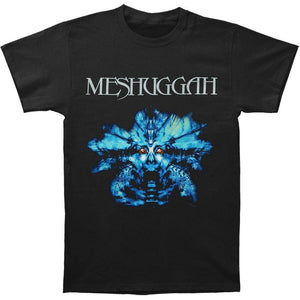 Fashion Casual Slim Fit Short Sleeve Meshuggah Blue Nothing shirts Tops Black Men's Tops