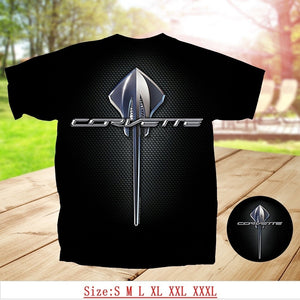 Joe Blow GM C7 Stingray Corvette Emblem Adult T-Shirts Tops Tee SIZE S-XXXL