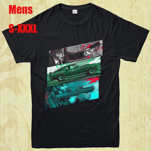 High Quality John Wick Mens T-Shirts Tops Tee Cotton Short Sleeves Tees Men Casual Shirt