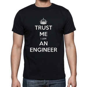 New   Short-sleeve T-Shirts Tops Tee I AM AN KEEP CALM TRUST ME HUMOR ENGINEER T Shirt Men Cloth Personalized Custom