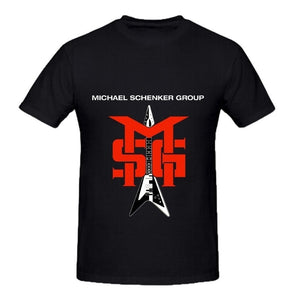 Michael Schenker Group Msg Jazz Men O Neck Cotton T Shirt,Outfit