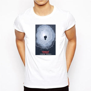 Popular Fashion Stranger Things 2 Video Game T-shirt Men Man Funny the Upside Down T Shirts Short Sleeve Hipster Tops Tees Comfortable,Outfit